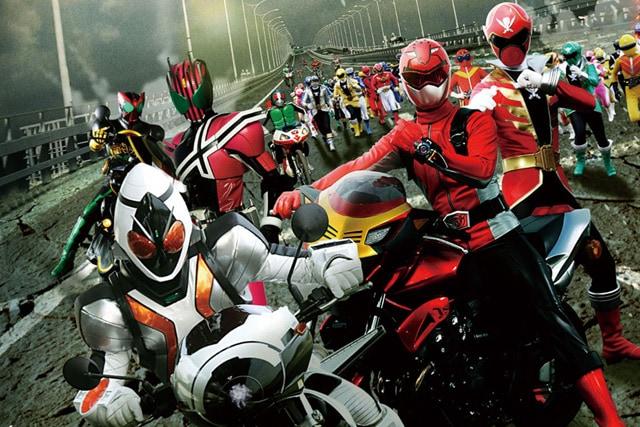 仮面ライダー×スーパー戦隊 スーパーヒーロー大戦 場面写真1
