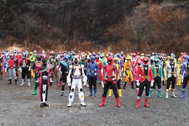 仮面ライダー×スーパー戦隊 スーパーヒーロー大戦 場面写真2