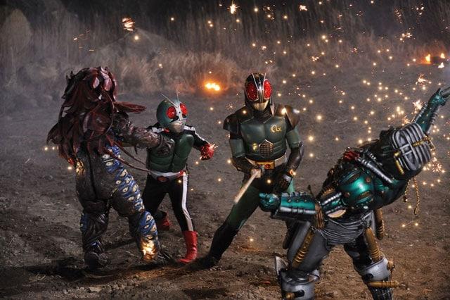 仮面ライダー×スーパー戦隊×宇宙刑事 スーパーヒーロー大戦Z 場面写真2
