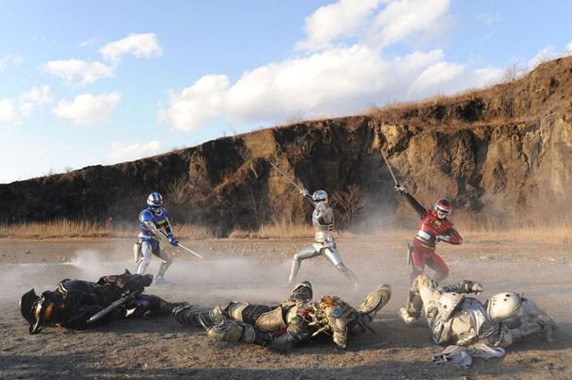 仮面ライダー×スーパー戦隊×宇宙刑事 スーパーヒーロー大戦Z 場面写真3