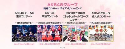 《NGT48単独コンサート~未来はどこまで青空なのか?~ ライブ・ビューイング》
