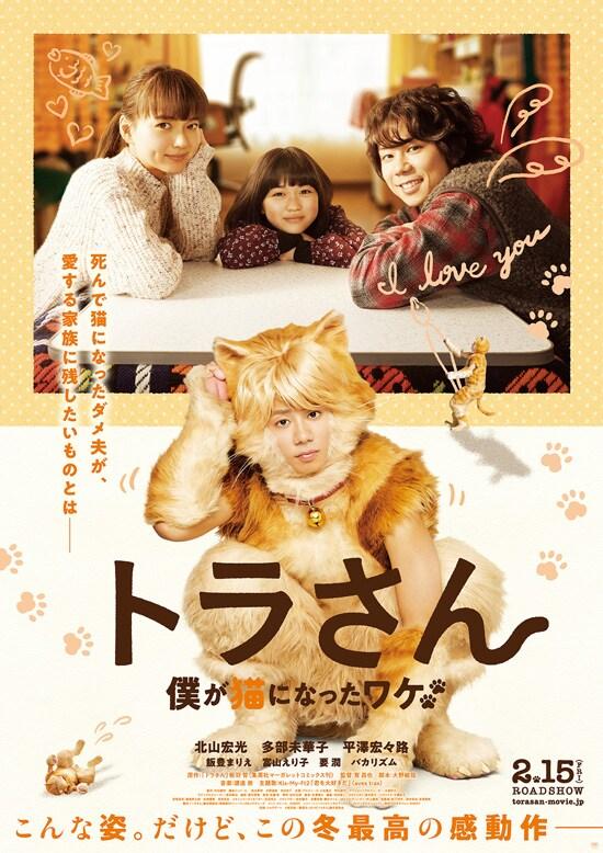 トラさん~僕が猫になったワケ~ フライヤー1