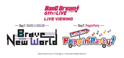 《BanG Dream! 6th☆LIVE LIVE VIEWING》