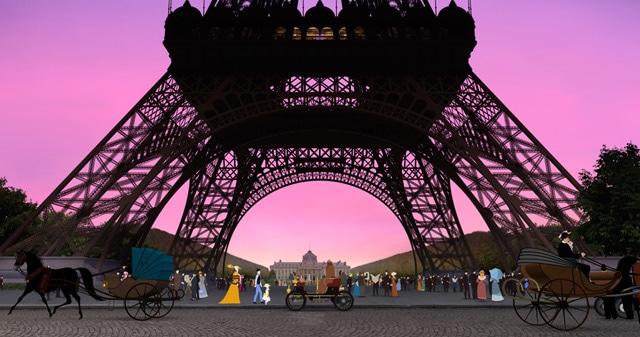 ディリリとパリの時間旅行 場面写真4