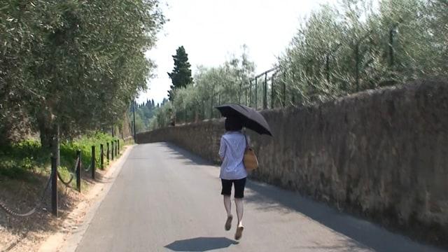 モデル 雅子 を追う旅 場面写真3