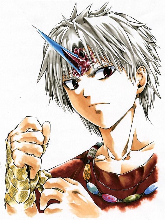 「マリンハンター」を週刊少年サンデーにて連載していた、大塚志郎の最新作「阿鬼羅」。
