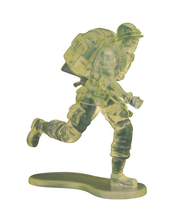 C賞「バッド・カンパニーBOX」に収められた兵隊のひとつ。(C)LUCKY LAND COMMUNICATIONS/集英社