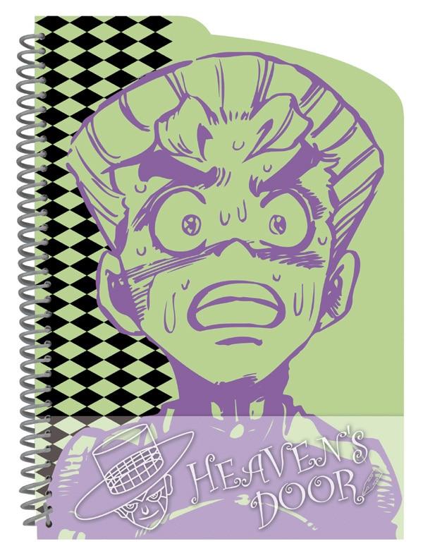 E賞「ヘブンズ・ドアッ!ノート」。広瀬浩一がヘブンズ・ドアーにかけられた姿がモチーフ。(C)LUCKY LAND COMMUNICATIONS/集英社