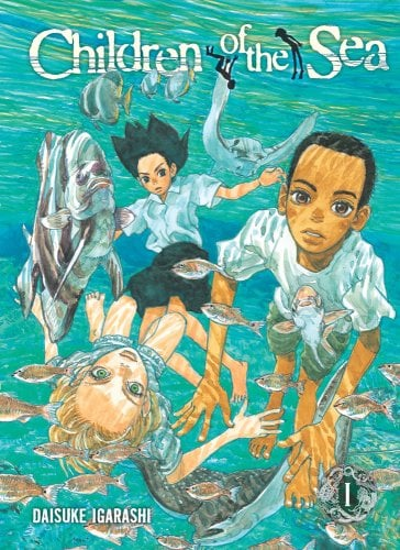 ペーパーバッグで発売される「Children of the Sea」1巻。