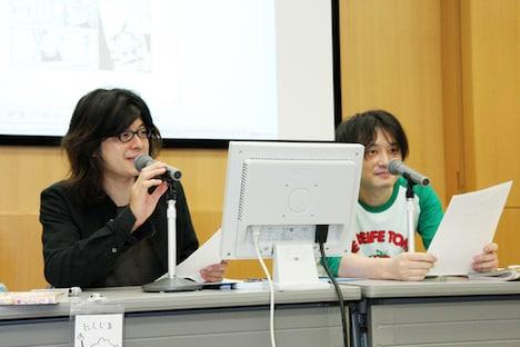 西島大介(左)、さやわか氏(右)の両講師。