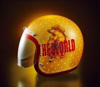 サイドにはディオと「ザ・ワールド」のロゴが描かれている。(C)荒木飛呂彦&LUCKY LAND COMMUNICATIONS/集英社