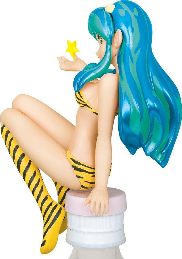 「海洋堂 ボトルオンフィギュアコレクション」第1弾ラムちゃんフィギュアの「GREEN」バージョン。(C)高橋留美子/小学館