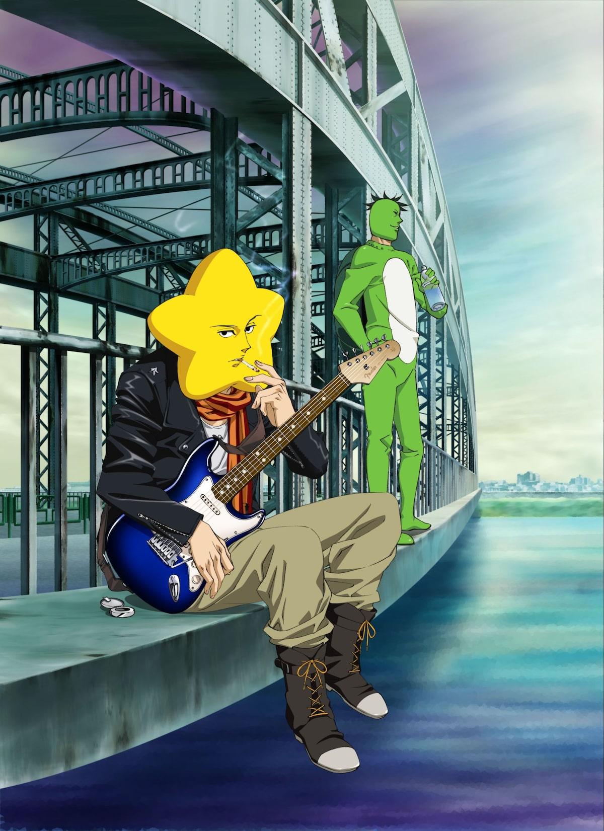 アニメ 荒川アンダー ザ ブリッジ 星と村長が登場 コミックナタリー