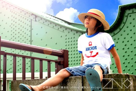 「ルフィの麦わら~シャンクスとの誓いの帽子~」イメージ画像。これで夏を先取りできるぞ。