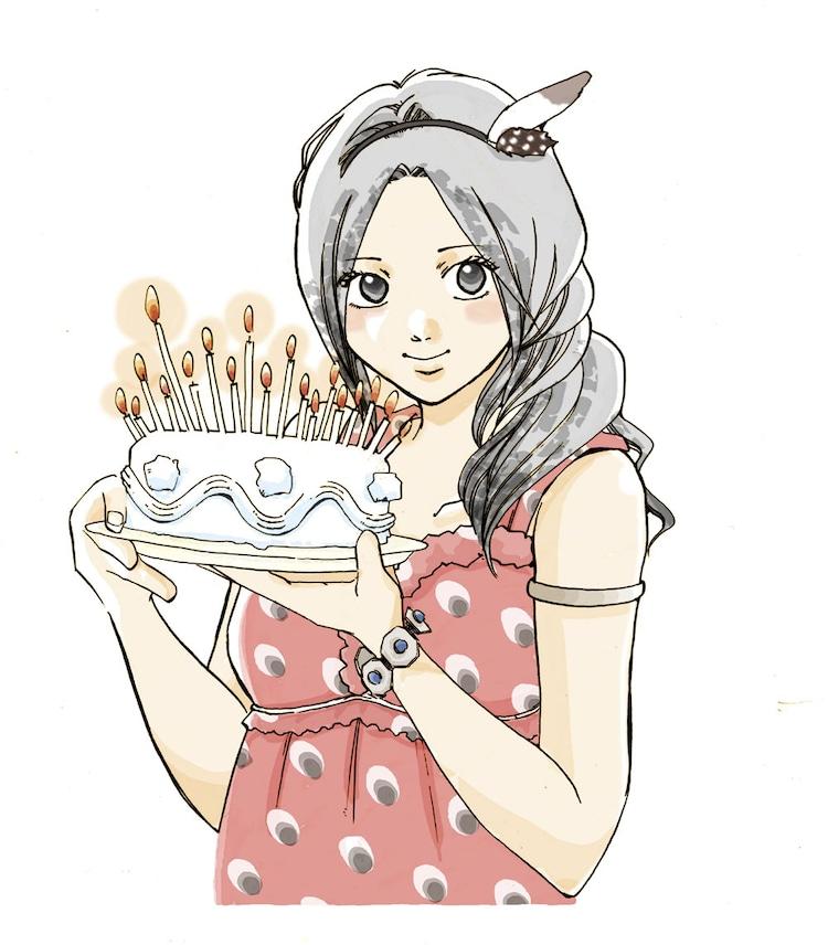 村上かつら「birthday」カット。