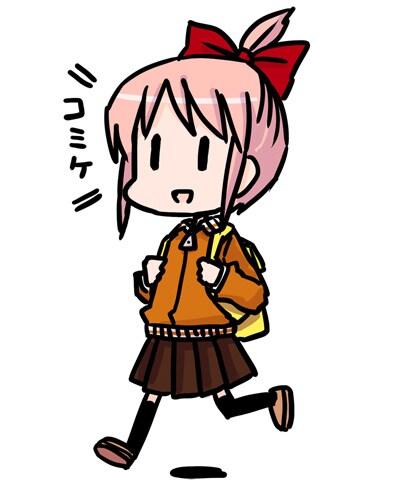 大沖がデザインした「僕のアキバ.com」とのコラボキャラクター。