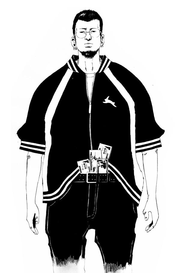 「闇金ウシジマくん」原作ビジュアル。(C)2010 真鍋昌平・小学館/「闇金ウシジマくん」製作委員会・毎日放送