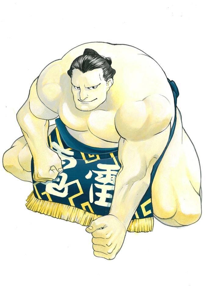 35号:雷電為右衛門(荒川弘)(C)2010 Asahi Shimbun Publications Inc./Hiromu Arakawa