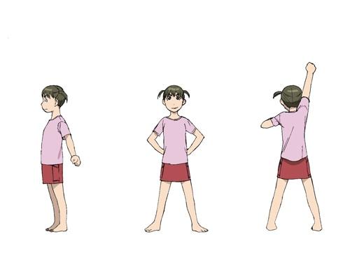 妹の「嵐山雪子」設定画。(C)石黒正数・少年画報社/それ町製作委員会