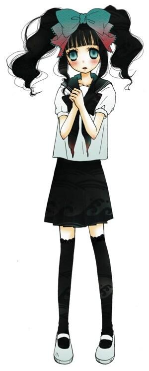 タカハシマコの新連載「魔女系」カット。