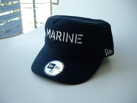 「NEW ERA ONEPIECE ワークキャップ(海軍)」。