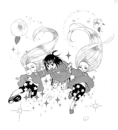 「花花星星」カット
