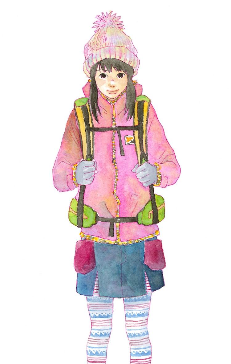 KUJIRA「ヤマビヨリ」カット。