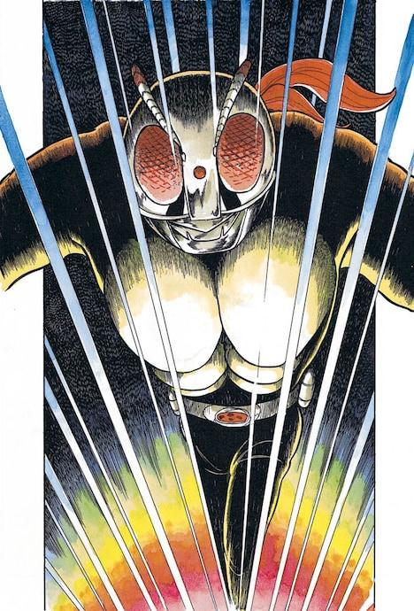 インタビューでは島本和彦が、石ノ森章太郎版「仮面ライダー」ならではの魅力をじっくりと紹介。特集へは記事本文のリンクから。