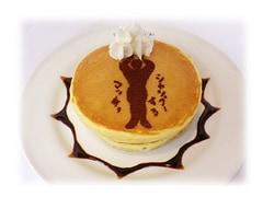 CD持参の人のみ注文できる限定メニュー「シャンプーするマッチョホットケーキ」。