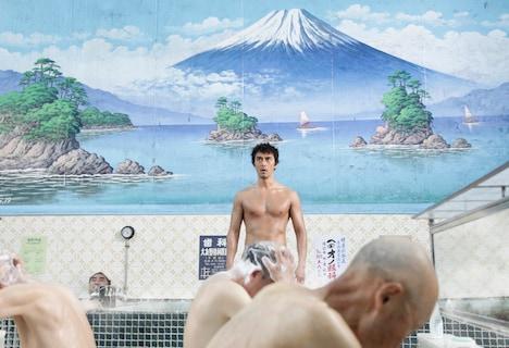 映画「テルマエ・ロマエ」場面写真。原作ではおなじみのシーンも完全再現。