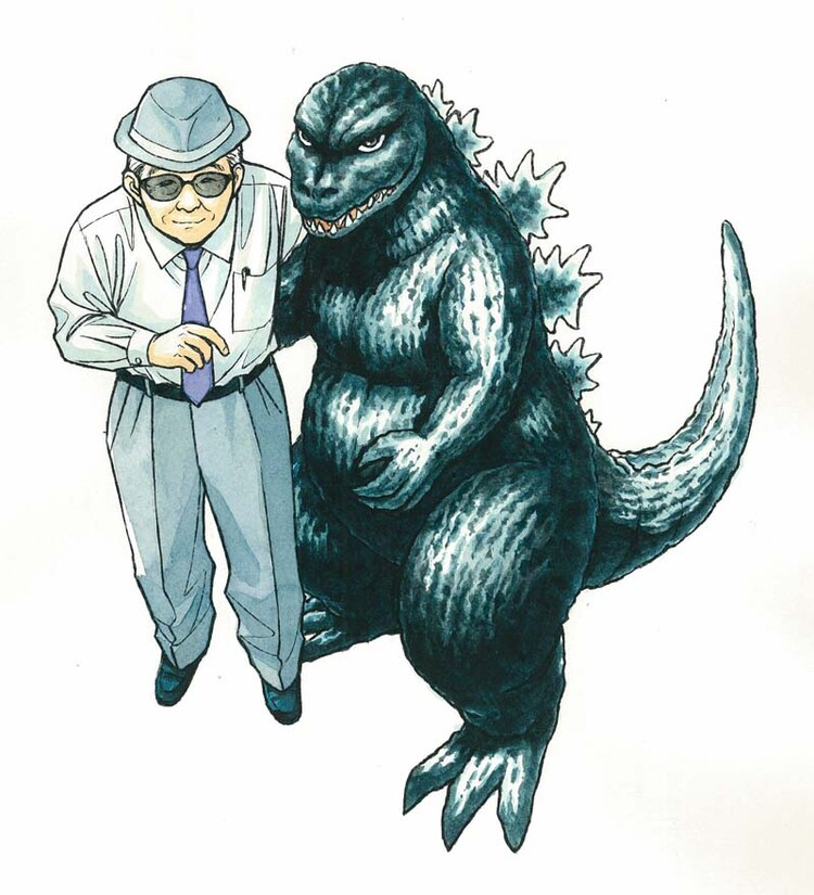 42号:円谷英二(樋口大輔)(C)Daisuke Higuchi/Asahi Shimbun Publications Inc.