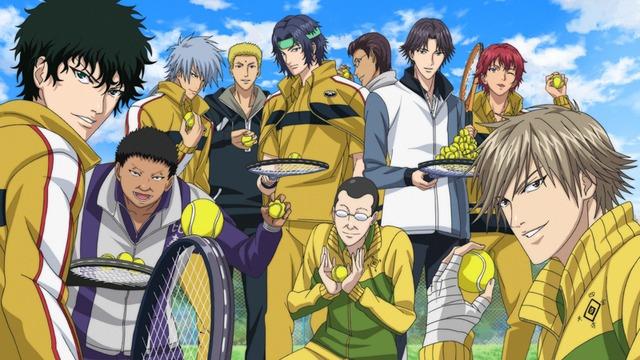 アニメ「新テニスの王子様」場面カット (C)許斐 剛/集英社・NAS・テニスの王子様プロジェクト
