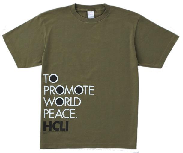 「ヨルムンガンド」グッズの1つ「HCLIスタッフTシャツ」。