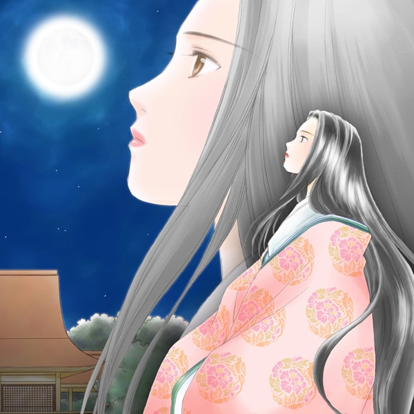 山内直実(氷室冴子原作)「月の輝く夜に」カット