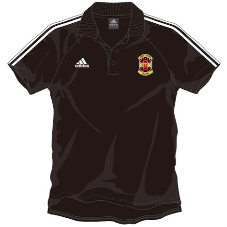 達海が着用している半袖ポロシャツは5145円。
