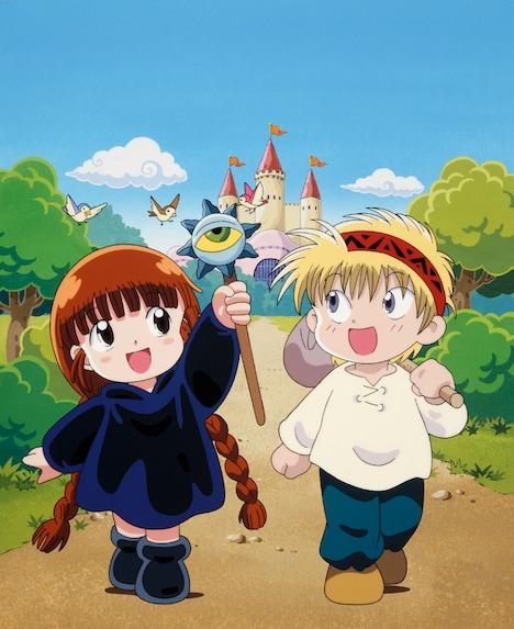「魔法陣グルグル」キービジュアル (C)衛藤ヒロユキ/スクウェアエニックス・日本アニメーション