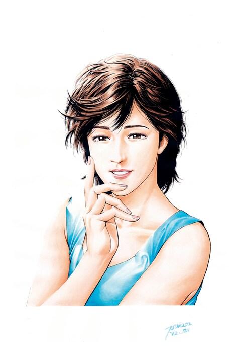 月刊コミックゼノン5月号では、このイラストの複製原画に伊倉一恵のサインが入ったものが3名に当たるプレゼントを実施中。