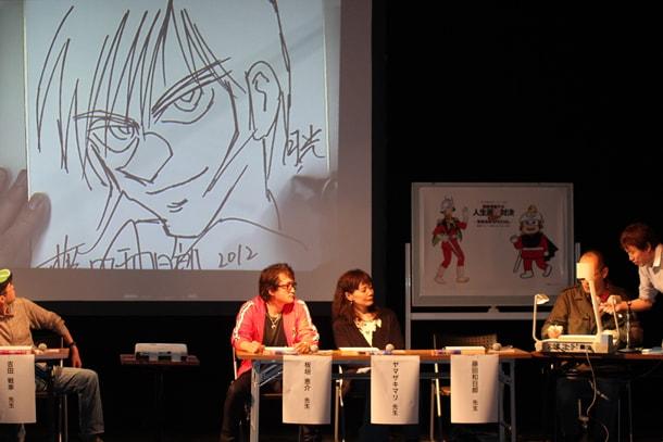藤田和日郎の「岩崎月光」ナマ描き。