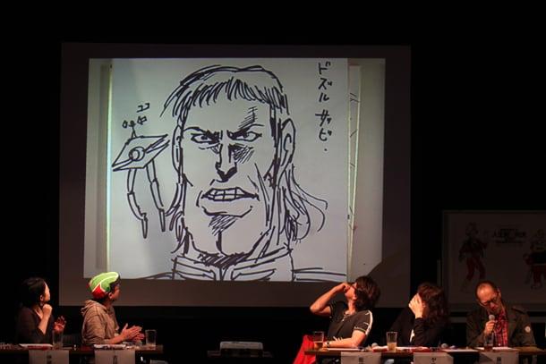 藤田和日郎作「ドズル・ザビ」。