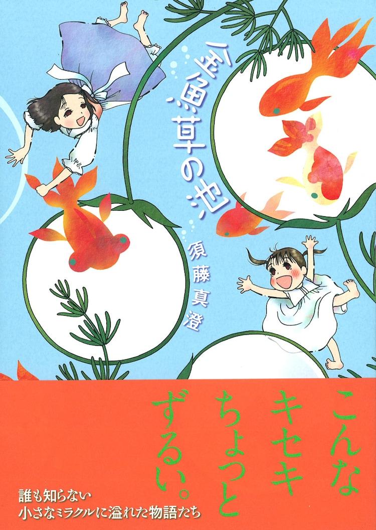 須藤真澄「金魚草の池」帯付き