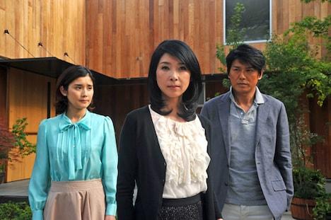 ドラマ「黄昏流星群~星降るホテル~」のビジュアル。