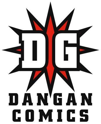 ダンガン・コミックスのロゴ