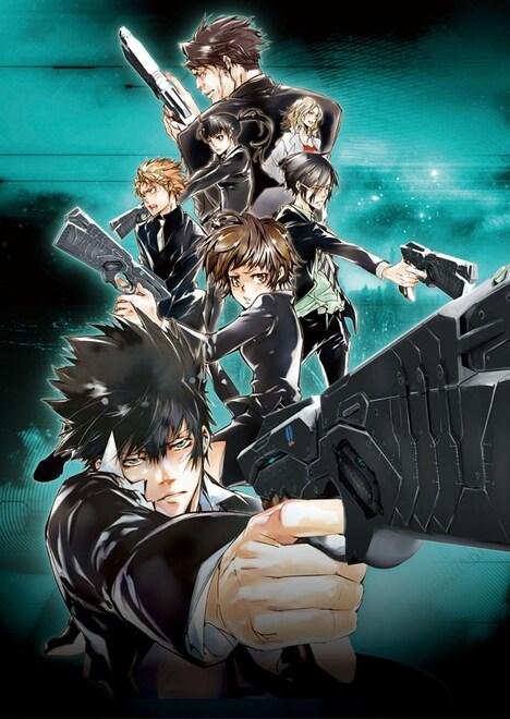 アニメPSYCHO-PASS サイコパス」キービジュアル。(C)サイコパス製作委員会