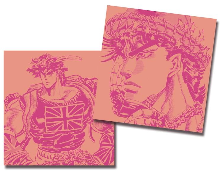 9月15日から19日まで配布されるジョナサン・ジョースターとジョセフ・ジョースターが描かれたCDケース。