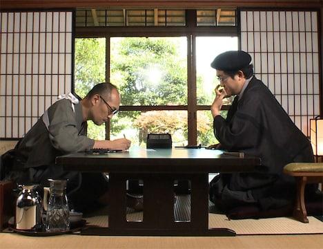 8月9日深夜に放送される「れんまん!」より。写真左から藤田和日郎、島本和彦。