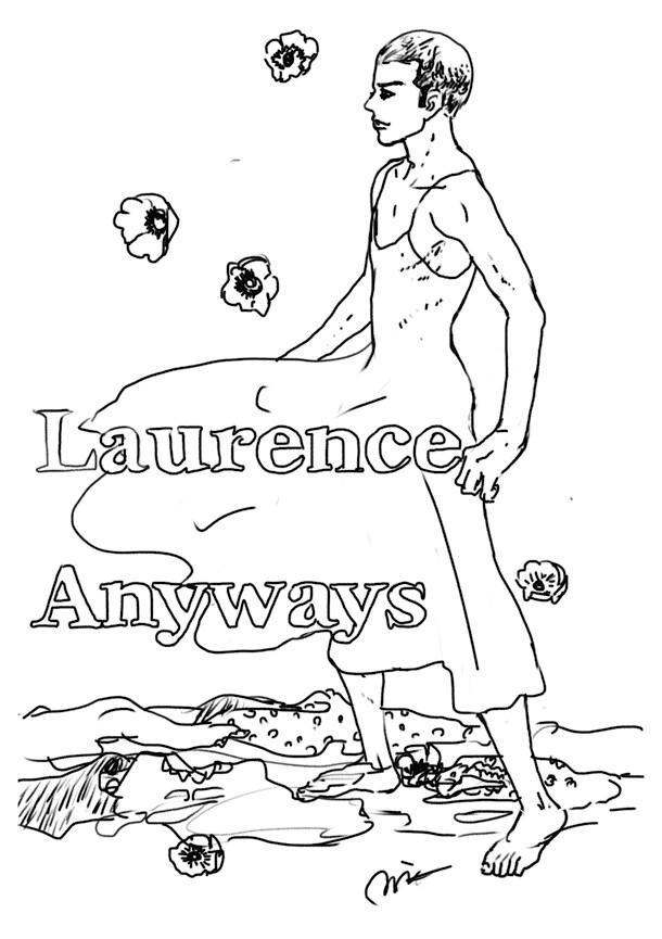やまだないとが「わたしはロランス」に寄せたイラスト。
