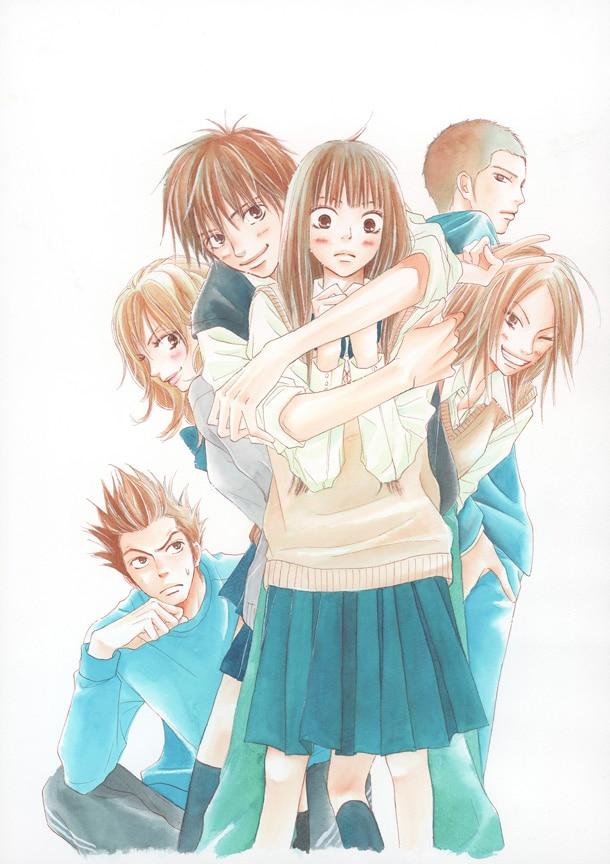 「君に届け」のカット。(c)椎名軽穂 /集英社マーガレットコミックス
