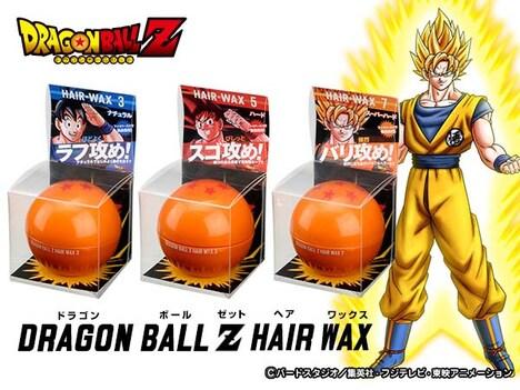 「DRAGON BALL Z HAIR WAX」