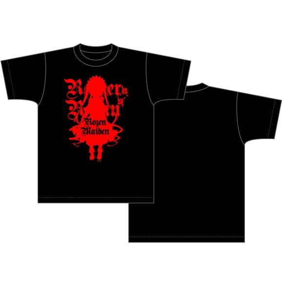 真紅の『ローゼンメイデン』Tシャツ。(c)PEACH-PIT・集英社/ローゼンメイデン製作委員会
