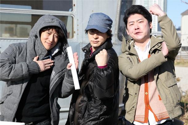 左から荒木飛呂彦、松井優征、附田祐斗。(c)SHUEISHA Inc. All rights reserved.